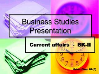 Business Studies Presentation