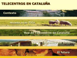 TELECENTROS EN CATALUÑA