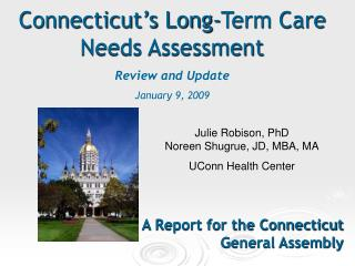 A Report for the Connecticut General Assembly