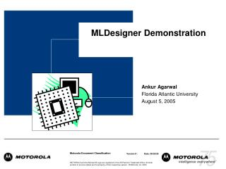 MLDesigner Demonstration