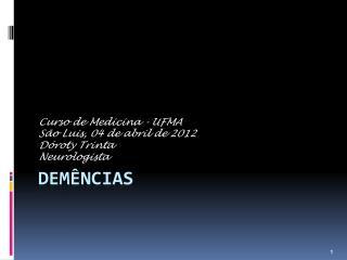 DEM�NCIAS