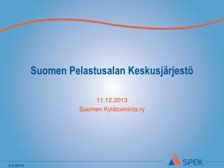 Suomen Pelastusalan Keskusj�rjest�