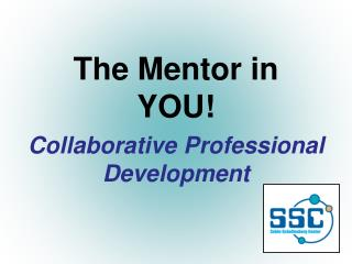 The Mentor in YOU!