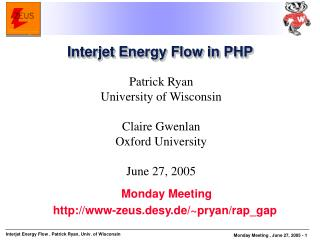 Interjet Energy Flow in PHP