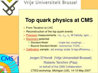 Top quark physics at CMS