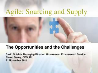 Agile: Sourcing and Supply