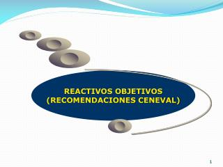 REACTIVOS OBJETIVOS (RECOMENDACIONES CENEVAL)