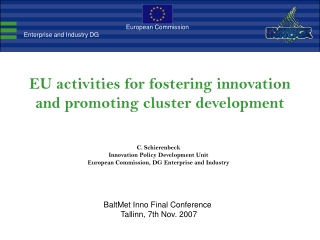 European Cluster Alliance
