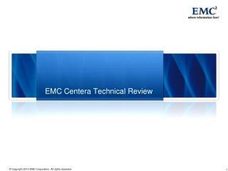 EMC Centera Technical Review