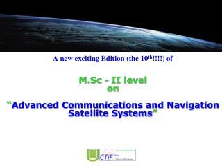 The 2012 CTIF Network
