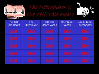 The Hitchhiker &  The Tell-Tale Heart