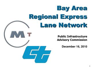 Bay Area  Regional Express Lane Network