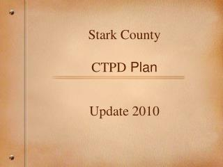 Stark County  CTPD  Plan