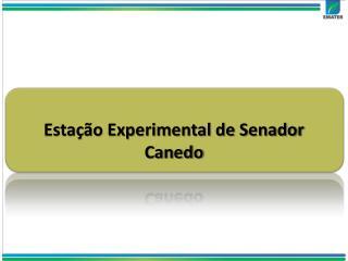 Estação Experimental de Senador Canedo