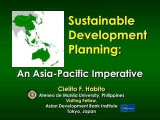 Sustainable Development  Planning: