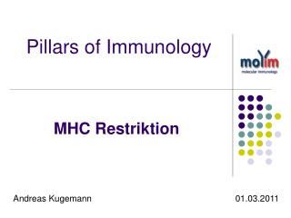 Pillars of Immunology