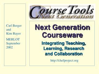 Next Generation Courseware