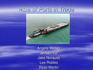 Role of Ports in Trade