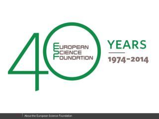 ESF Member Organisations
