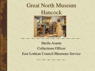 Great North Museum Hancock