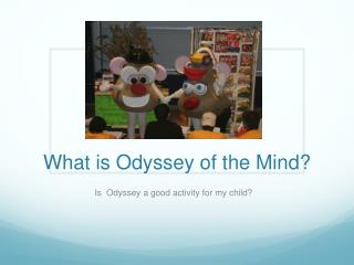 What is Odyssey of the Mind?
