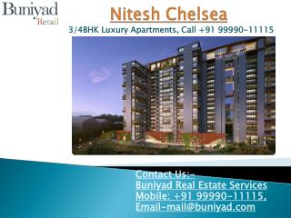 Nitesh Chelsea Bangalore – Luxurious 2 and 3 BHK for sale