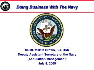 Doing Business With The Navy