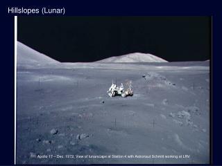 Hillslopes (Lunar)