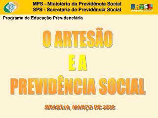 BRASÍLIA, MARÇO DE 2005