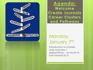 Monday, January 7 th