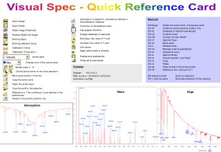 Visual Spec - Quick Reference Card