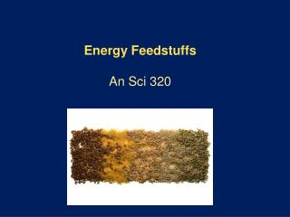 Energy Feedstuffs An  Sci 320