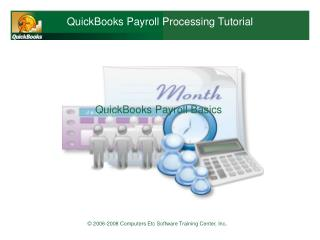 QuickBooks Payroll Processing Tutorial