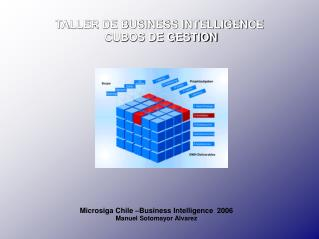 TALLER DE BUSINESS INTELLIGENCE   CUBOS DE GESTION