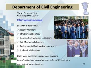 Department of Civil Engineering