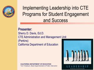 Implementing Leadership into CTE Programs for Student Engagement and Success