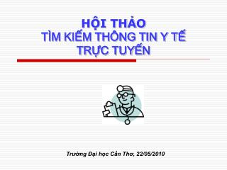 HI THO  T M KIM TH NG TIN Y T  TRC TUYN