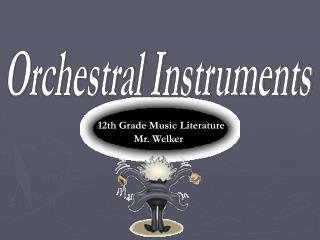 12th Grade Music Literature