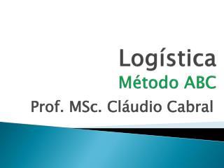 Logística Método ABC