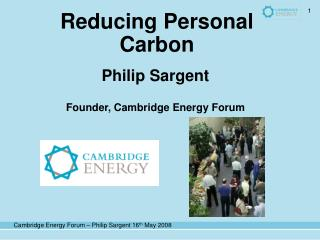 Reducing Personal Carbon