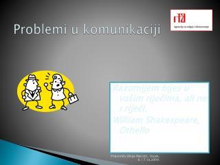 Problemi u komunikaciji