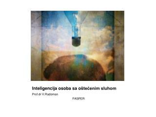 Inteligencija osoba sa o štećenim sluhom