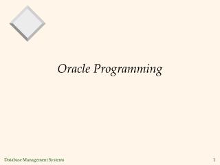 JDBC: Programming Relational Databases from Java