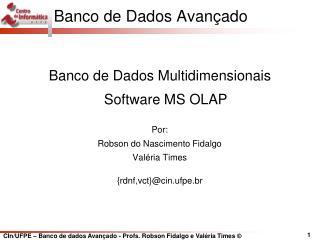 Banco de Dados Avan�ado