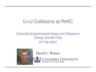 U+U Collisions at RHIC