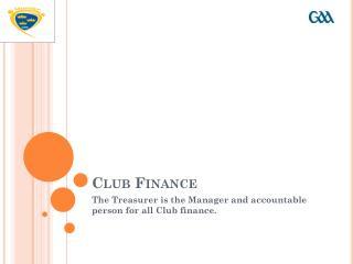 Club Finance