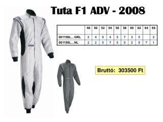 Tuta F1 ADV - 2008