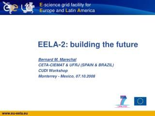 EELA-2: building the future