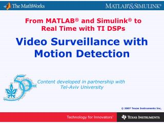 Video Surveillance with Motion Detection