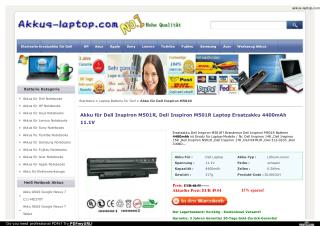 Akku Dell Inspiron M501R www.akkus-laptop.com